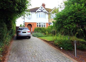 Thumbnail 3 bed semi-detached house for sale in Castle Way, Leybourne, West Malling, Kent