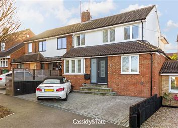 Thumbnail 5 bed semi-detached house for sale in Windmill Avenue, St Albans, Hertfordshire
