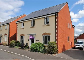 Thumbnail 4 bed detached house for sale in Lucerne Crescent, North Petherton, Bridgwater