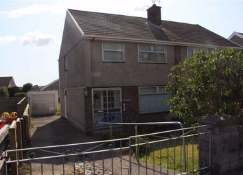Thumbnail 3 bed semi-detached house for sale in Ash Grove, Killay, Swansea