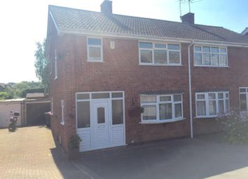 Thumbnail 3 bed semi-detached house for sale in Meadow Road, Hartshill, Nuneaton