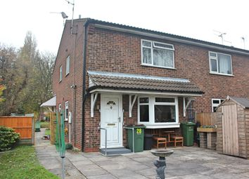 Thumbnail 1 bed town house for sale in Penney Close, Wigston, Leicester