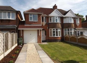 Thumbnail 4 bedroom semi-detached house for sale in Elmfield Road, Castle Bromwich, Birmingham, West Midlands