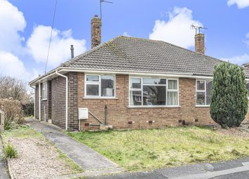 Thumbnail 2 bed bungalow for sale in Low Moor Avenue, York