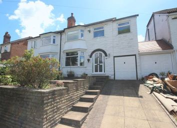 Thumbnail 4 bed semi-detached house to rent in Dalbury Road, Hall Green, Birmingham