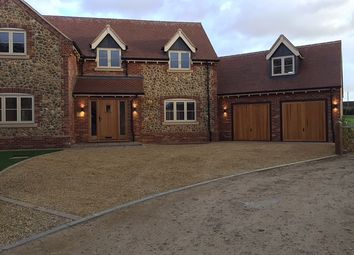 Thumbnail 5 bed detached house to rent in Church Road, Holme Hale, Thetford