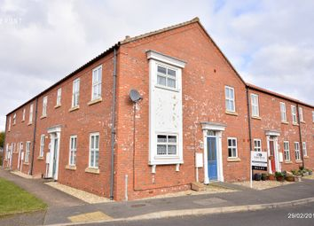 Thumbnail 2 bed end terrace house for sale in Curtis Close, Horncastle, Lincs