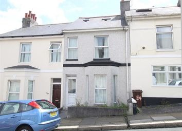 Thumbnail 4 bed terraced house for sale in West Hill Road, Plymouth