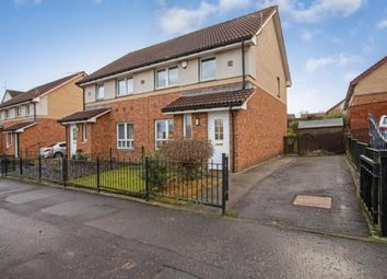 Thumbnail 3 bed semi-detached house for sale in Holmbyre Road, Glasgow, Lanarkshire