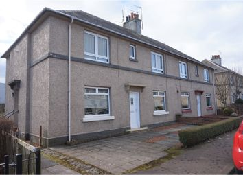 Thumbnail 2 bed flat for sale in Claremont Crescent, Kilwinning