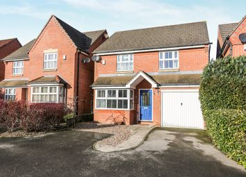 Thumbnail 3 bed detached house for sale in Peak Hill Close, Worksop