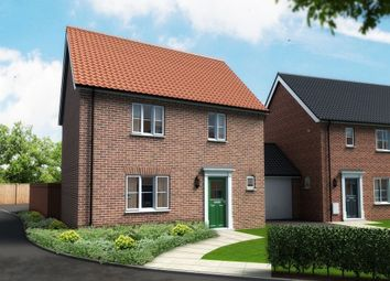 Thumbnail 3 bedroom detached house for sale in Shotesham Road, Poringland, Norwich