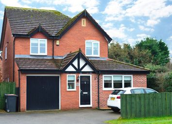 Thumbnail 3 bed detached house to rent in Newcastle Road, Shavington, Crewe