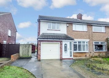 Thumbnail 3 bed semi-detached house for sale in Bentinck Road, Stockton-On-Tees