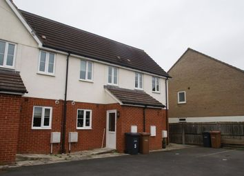 Thumbnail 3 bed terraced house to rent in The Beeches, Weyhill Road, Andover