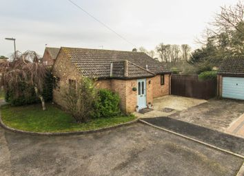 Thumbnail 3 bed detached bungalow for sale in Icknield Close, Cheveley, Newmarket