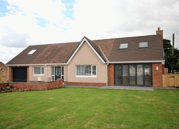 Thumbnail 5 bed detached bungalow for sale in Pegswood Village, Pegswood, Morpeth