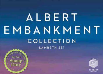 Thumbnail  Studio for sale in The Dumont, 22-29 Albert Embankment, London