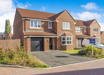 Thumbnail 4 bedroom detached house for sale in Blackshaw Crescent, Thorpe Willoughby, Selby