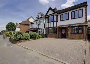 Thumbnail 5 bedroom semi-detached house for sale in The Ridgeway, London