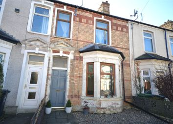 Thumbnail 2 bed terraced house for sale in Romilly Road West, Victoria Park, Cardiff