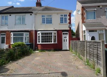 Thumbnail 3 bed end terrace house to rent in Pearson Avenue, Coventry
