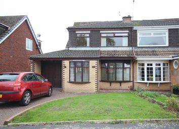 Thumbnail 3 bed semi-detached house to rent in Manston Road, Penketh, Warrington
