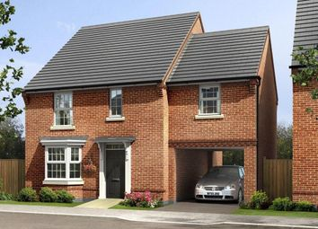 "Thumbnail 4 bed detached house for sale in ""Hurst"" at Sorrel Close, Uttoxeter"