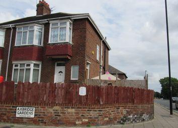 Thumbnail 2 bed flat to rent in Axbridge Gardens, Benwell