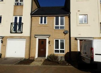 Thumbnail 3 bedroom terraced house to rent in Ganymede Close, Ipswich, Suffolk