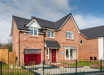 Thumbnail 4 bed detached house for sale in Rectory Lane, Standish, Wigan