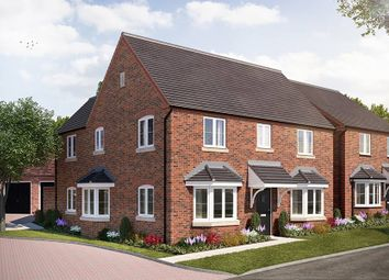 "Thumbnail 4 bed detached house for sale in ""The Halford"" at Broughton Road, Banbury"