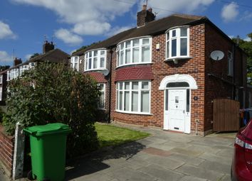 Thumbnail 6 bed semi-detached house to rent in Arnfield Road, Withington, Manchester