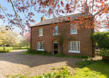 Thumbnail 4 bed detached house for sale in Thurlton, Norwich