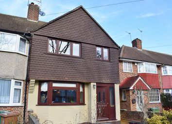 Thumbnail 3 bed end terrace house for sale in Berwick Crescent, Sidcup, Kent