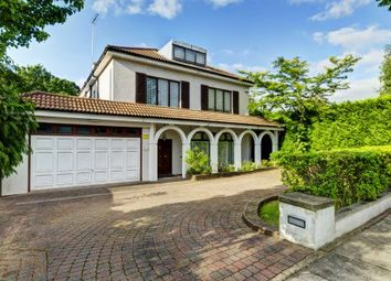 Thumbnail 6 bed detached house for sale in Neville Drive N2, Hampstead Garden Suburb