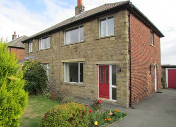 Thumbnail 3 bedroom semi-detached house for sale in 11 Moorside Honley, Holmfirth
