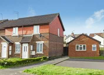 Thumbnail 2 bed end terrace house for sale in Beta Road, Maybury, Woking