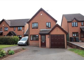 Thumbnail 3 bed detached house for sale in Osterley Grove, Nuthall, Nottingham