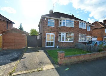 Thumbnail 3 bed semi-detached house to rent in Ashbourne Road, Wigston, Leicester