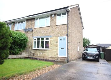 Thumbnail 3 bed semi-detached house for sale in Longroyde Road, Rastrick, Brighouse