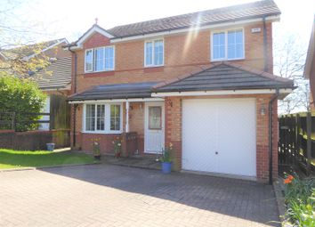 Thumbnail 4 bed detached house for sale in Clos Glas Y Dorlan, Brackla, Bridgend.