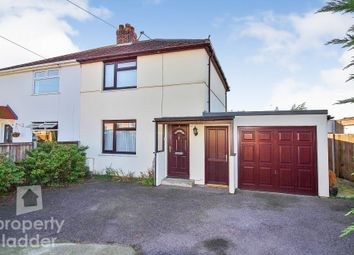 Thumbnail 2 bed semi-detached house for sale in Neville Close, Sprowston, Norwich