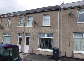 Thumbnail 3 bedroom terraced house to rent in Lewis Street, Crumlin, Newport.