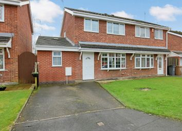 Thumbnail 3 bed semi-detached house for sale in Waterbeck Grove, Stoke-On-Trent