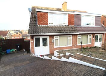Thumbnail 3 bed semi-detached house for sale in The Spinney, Newport