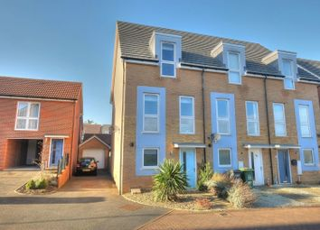 Thumbnail 3 bed semi-detached house for sale in Poethlyn Drive, Norwich