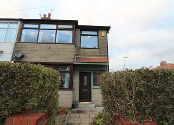Thumbnail 3 bed end terrace house to rent in Rookwood Avenue, Cleveleys