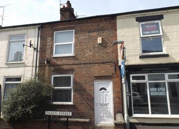 Thumbnail 3 bed terraced house for sale in Queen Street, Northwich, Cheshire