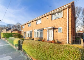 Thumbnail Semi-detached house for sale in Bosworth Gardens, Newcastle Upon Tyne